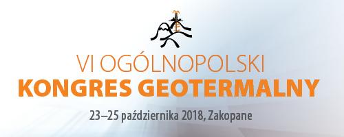 VI Ogólnopolski Kongres Geotermalny